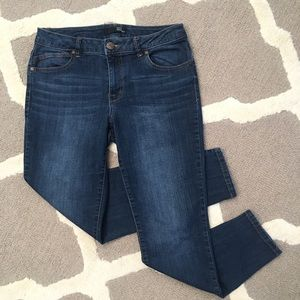 Butter High Rise Skinny Jeans